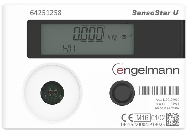 Engelmann ultrahangos hőmennyiségmérő Image