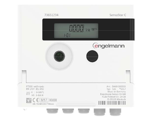 SensoStar C kiértékelő elektronika hőmennyiség és vízmérőhöz Image